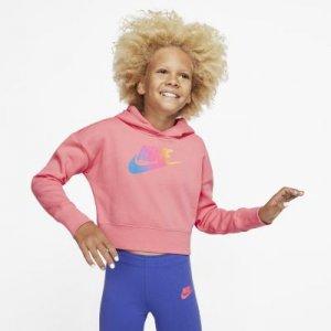 Укороченная худи для девочек школьного возраста Sportswear Nike