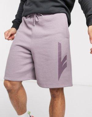 Трикотажные шорты -Фиолетовый цвет Hi-Tec