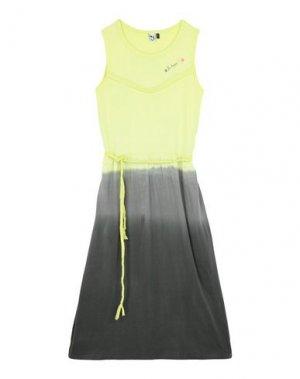 Платье 3 POMMES. Цвет: желтый