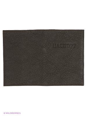Обложка для паспорта Olci. Цвет: коричневый, светло-коричневый