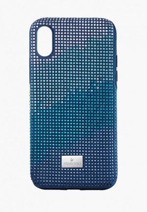 Чехол для iPhone Swarovski® X Crystalgram. Цвет: синий