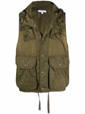 Жилет с карманами Engineered Garments. Цвет: зеленый