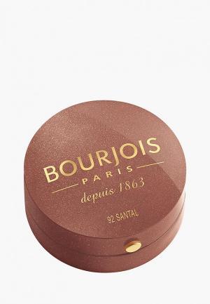 Румяна Bourjois Blusher Тон 92 santal. Цвет: розовый