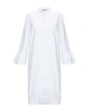 Pубашка ALPHA STUDIO. Цвет: белый