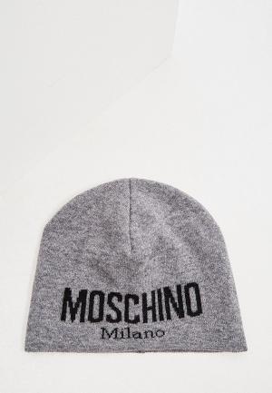 Шапка Moschino. Цвет: серый