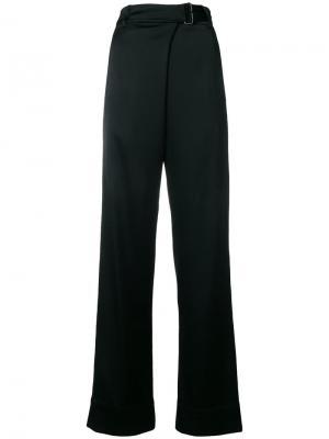 Wide-leg trousers Ann Demeulemeester. Цвет: черный