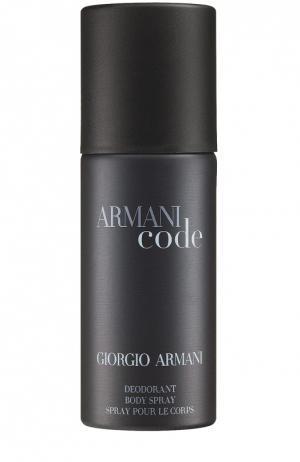 Дезодорант-спрей Armani Code Giorgio. Цвет: бесцветный