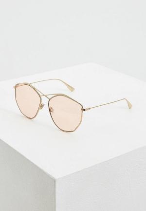 Очки солнцезащитные Christian Dior DIORSTELLAIRE4 J5G. Цвет: золотой