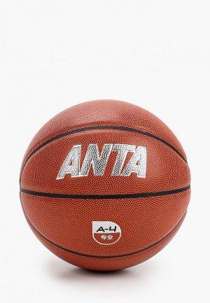 Мяч баскетбольный Anta Basketball Pro. Цвет: коричневый