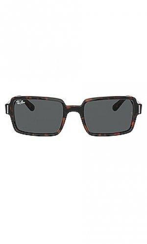 Солнцезащитные очки benji Ray-Ban. Цвет: коричневый