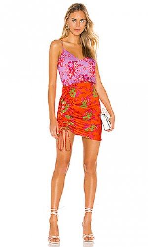 Мини платье lala DELFI. Цвет: красный