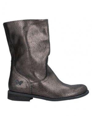 Полусапоги и высокие ботинки FELMINI. Цвет: бронзовый