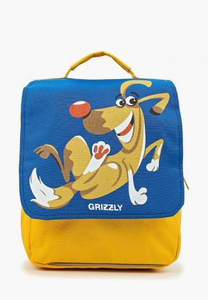 Рюкзак Grizzly. Цвет: синий
