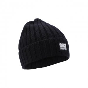 Шерстяная шапка C.P. Company. Цвет: синий