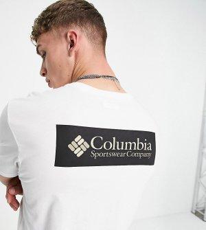 Черно-белая футболка North Cascades – эксклюзивно для ASOS-Черный цвет Columbia