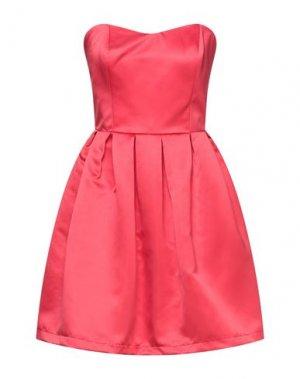 Короткое платье FRACOMINA. Цвет: красный
