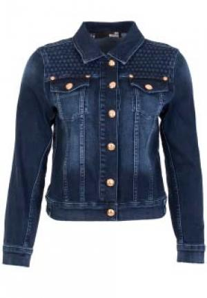 Куртка MOSCHINO Love. Цвет: синий