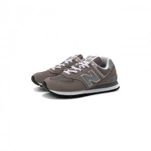 Комбинированные кроссовки New Balance. Цвет: серый