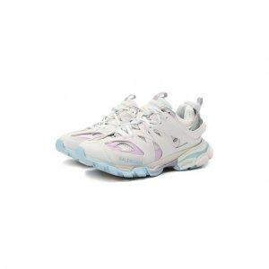 Комбинированные кроссовки Track Balenciaga. Цвет: серый