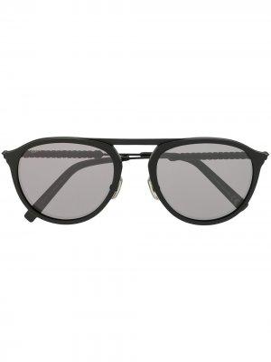 Tods солнцезащитные очки-авиаторы Tod's. Цвет: черный