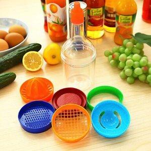 8шт Многофункциональный кухонный набор инструментов SHEIN. Цвет: многоцветный