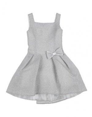 Платье LADIA. Цвет: светло-серый
