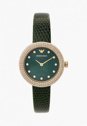 Часы Emporio Armani AR11419. Цвет: зеленый