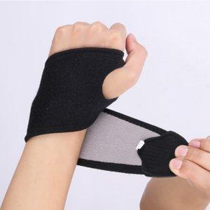 Спортивные наручи повязки SHEIN. Цвет: чёрный