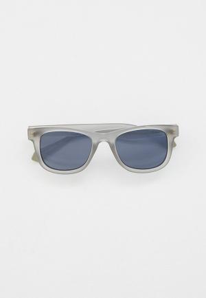 Очки солнцезащитные Polaroid с поляризационными линзами. Цвет: серый