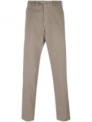 Классические брюки чинос Loro Piana. Цвет: телесный