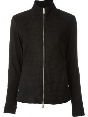 Приталенная куртка 10Sei0otto. Цвет: чёрный