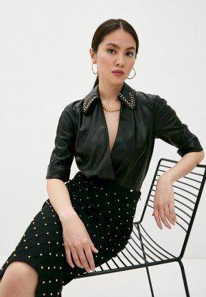 Боди Elisabetta Franchi. Цвет: черный