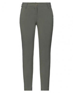 Повседневные брюки H2O ITALIA. Цвет: шалфейно-зелёный