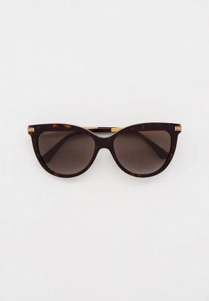 Очки солнцезащитные Jimmy Choo AXELLE/G/S 086. Цвет: коричневый