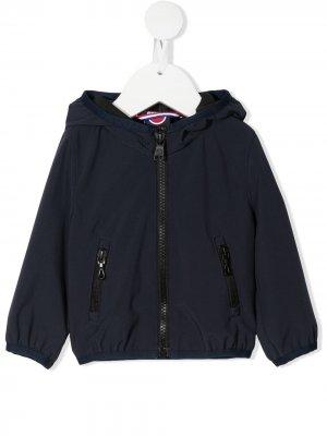 Непромокаемая куртка на молнии с капюшоном Colmar Kids. Цвет: синий