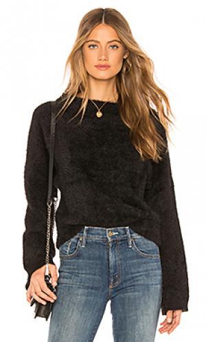 Пуловер rita Lovers + Friends. Цвет: черный