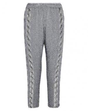 Повседневные брюки ANTIK BATIK. Цвет: серый