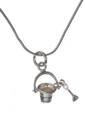 Ожерелье 925Со. Цвет: серебряный