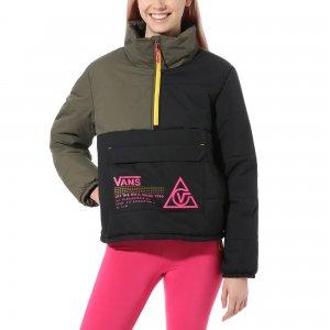 Куртка 66 Supply Pullover Puffer MTE Jacket VANS. Цвет: мульти