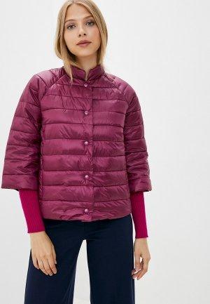 Куртка утепленная Снежная Королева. Цвет: фиолетовый