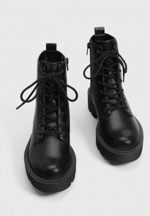 Ботинки Bershka. Цвет: черный