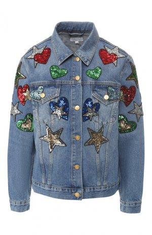 Джинсовая куртка Escada Sport. Цвет: синий