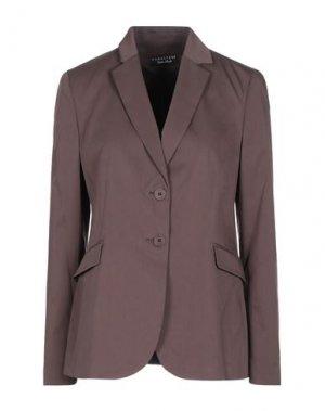 Пиджак CARACTÈRE. Цвет: темно-коричневый