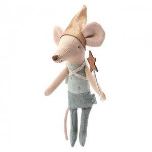 Игрушка Зубная фея со шкатулкой Maileg. Цвет: синий