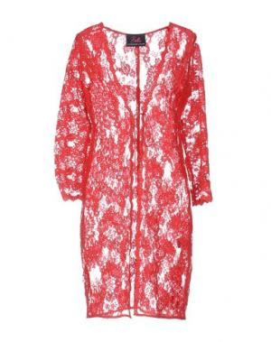 Легкое пальто BETTA CONTEMPORARY COUTURE. Цвет: красный