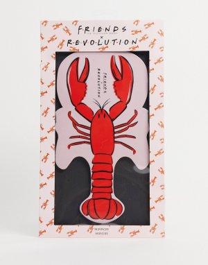 Зеркало с дизайном в виде омара X Friends-Бесцветный Revolution