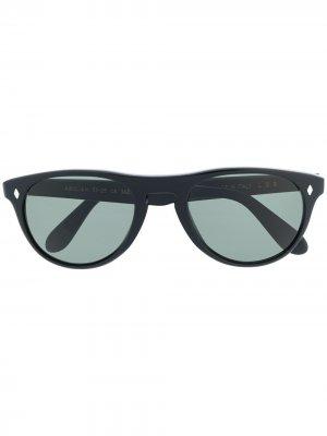 Солнцезащитные очки Abidjan в круглой оправе L.G.R. Цвет: черный