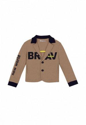 Пиджак Bell Bimbo. Цвет: коричневый