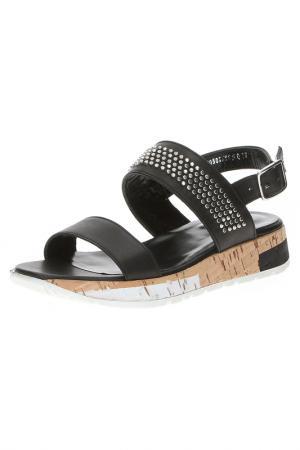 Туфли открытые Alba. Цвет: черный