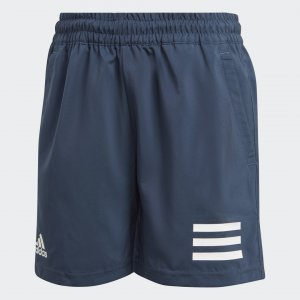 Шорты для тенниса Club 3-Stripes Performance adidas. Цвет: белый